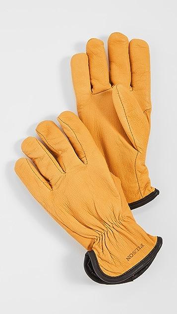 Filson Original Lined Goatskin Gloves