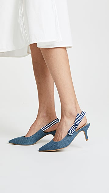 The Fix Fatina Slingback Pumps