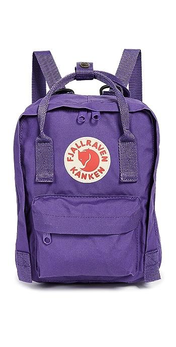 Fjallraven Kanken Mini Backpack - Purple