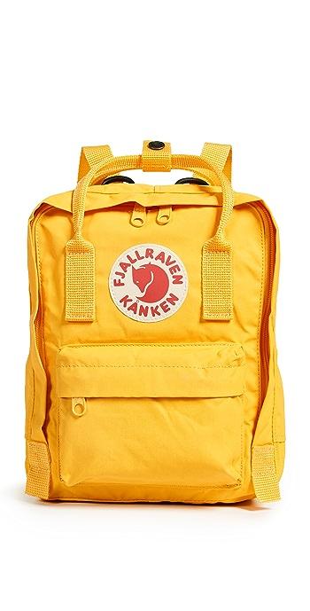 Fjallraven Kanken Mini Backpack - Warm Yellow