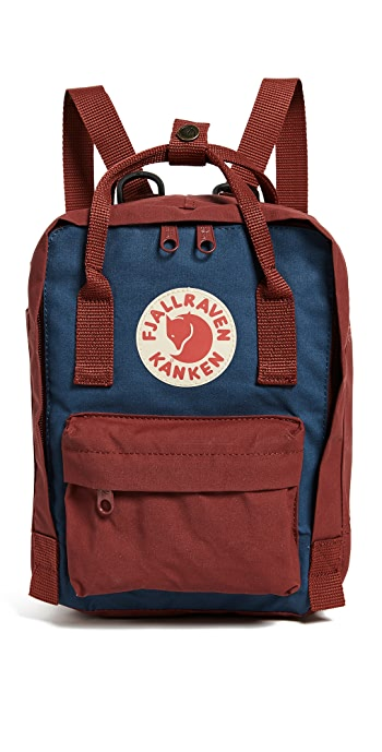 Fjallraven Kanken Mini Backpack - Royal Blue/Ox Red