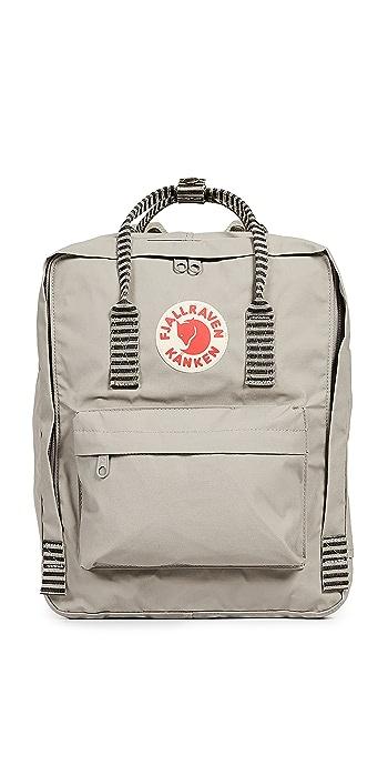 Fjallraven Kanken Backpack - Fog/Striped