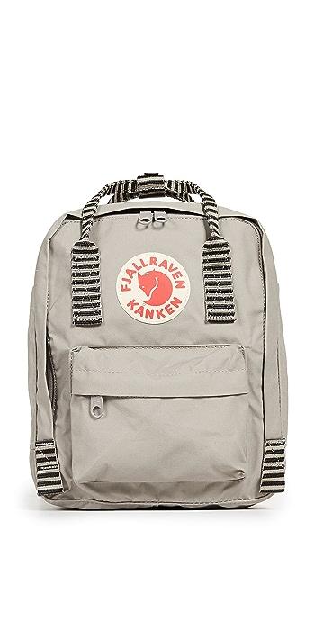 Fjallraven Kanken Mini Backpack - Fog/Striped