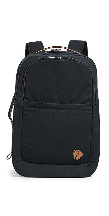 Fjallraven Travel Backpack - Black