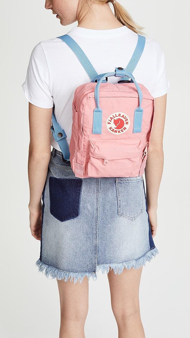 "NEW FJALLRAVEN /""KANKEN/"" Mini Backpack in Air Blue SALE"