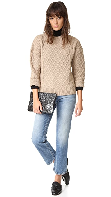 findersKEEPERS Odom Cable Knit Sweater