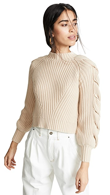findersKEEPERS Linear Sweater