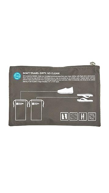 Flight 001 Go Clean Shoes Bag