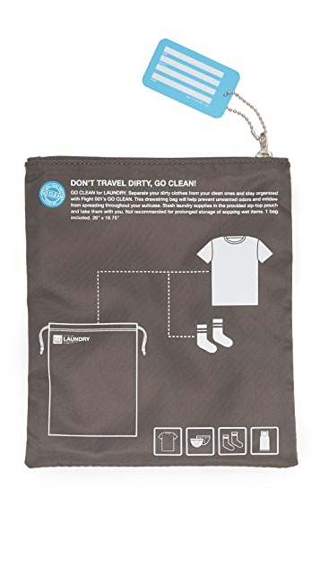 Flight 001 Go Clean Laundry Bag