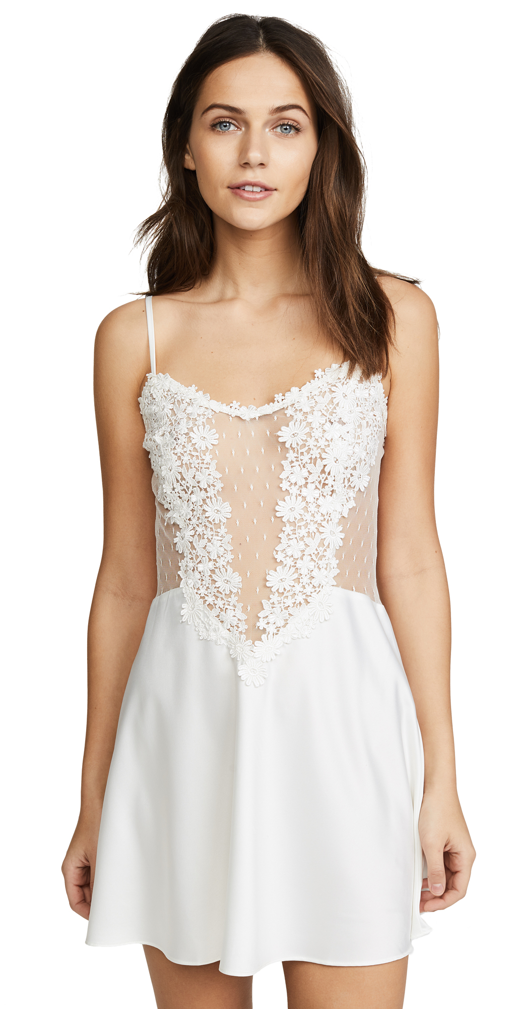 Showstopper Chemise With Lace