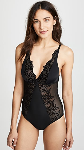 Lace Trimmed Bodysuit | SHOPBOP
