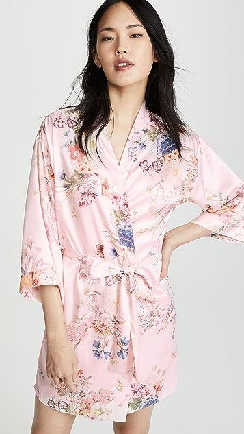 Flora Nikrooz Petra Matte Print Kimono