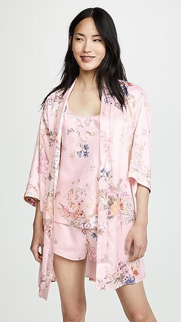 Flora Nikrooz Petra Matte Print Pajama Set