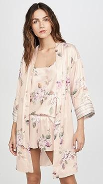 Emily Charmeuse Robe
