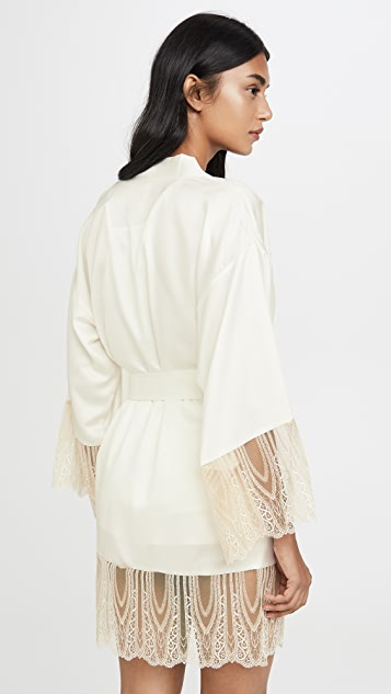 Flora Nikrooz Aurora 软缎蕾丝礼服