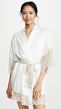 Gabby Charmeuse Robe
