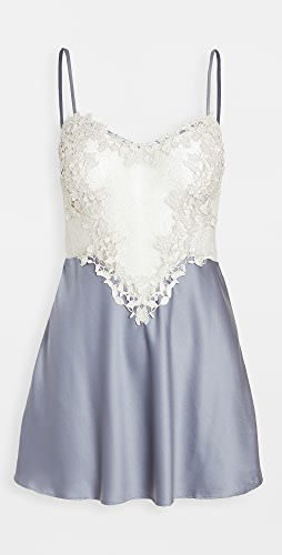 Flora Nikrooz - Showstopper Charmeuse Chemise with Lace