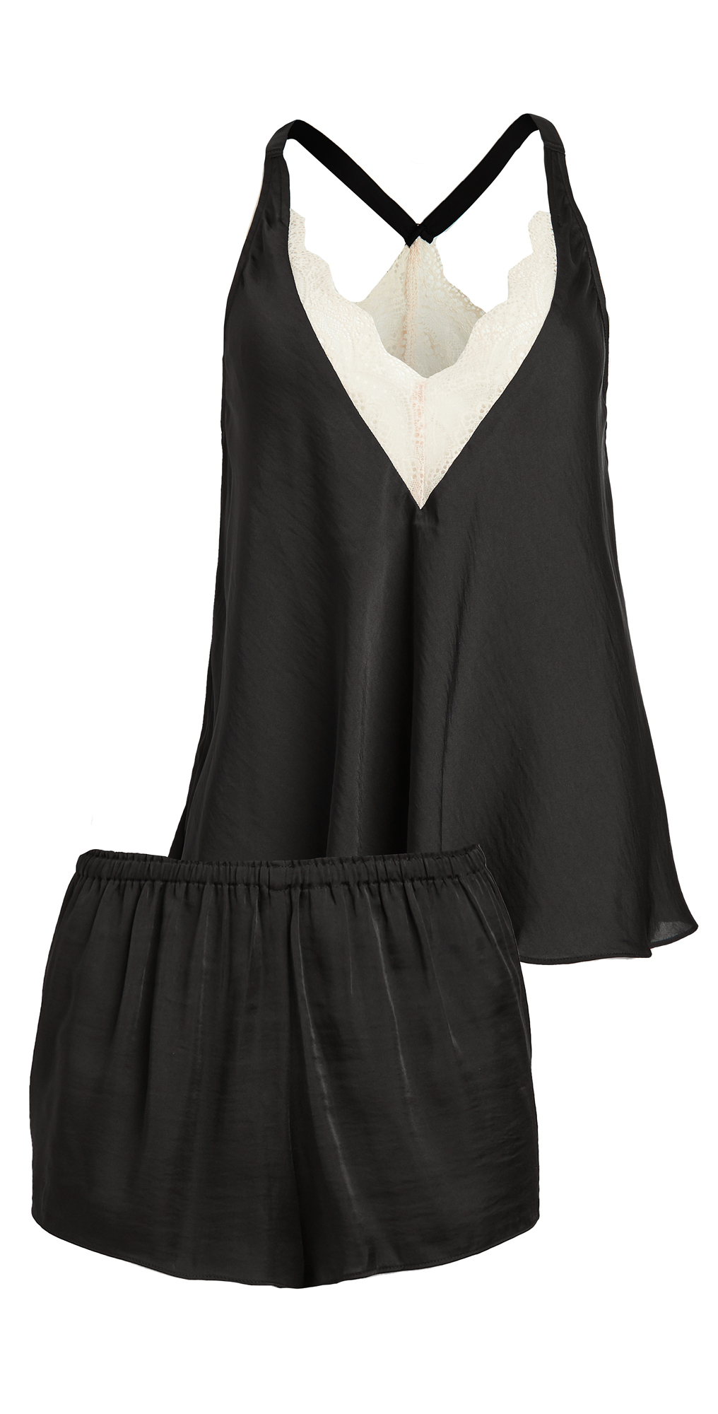 Sestina Silky Island Cami Short Set with Lace