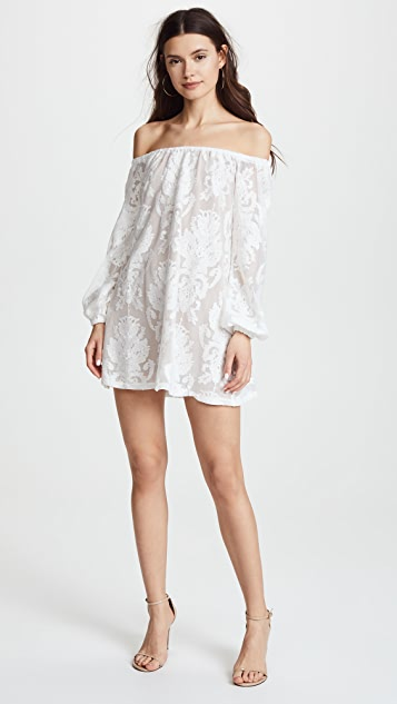 For Love & Lemons Precioso Dress - Ivory