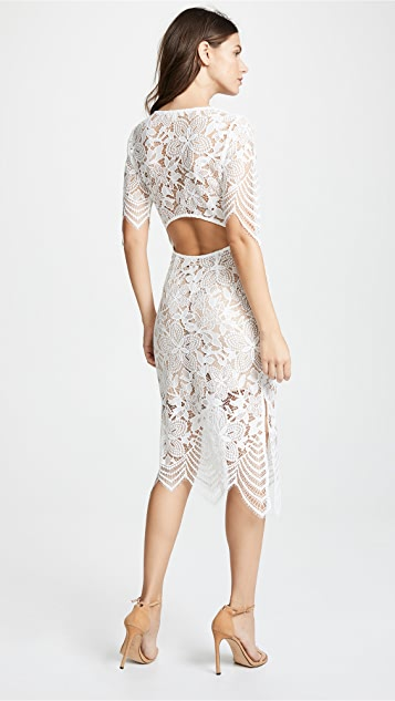 For Love & Lemons Luna Maxi Dress