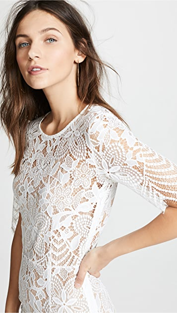 For Love & Lemons Luna 长连衣裙