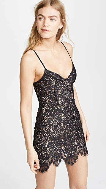 For Love & Lemons Vika Mini Dress