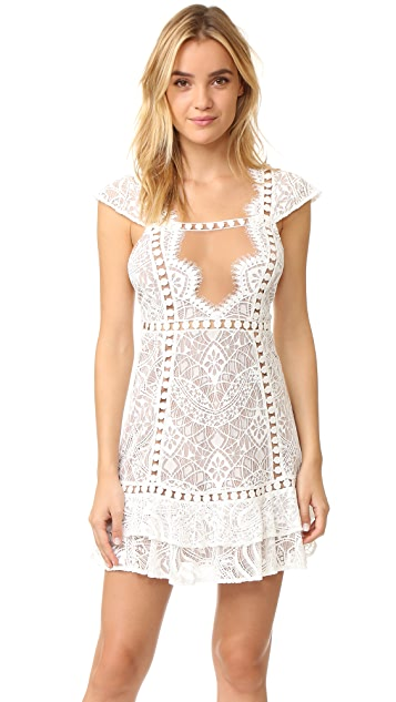 For Love & Lemons Emerie Dress