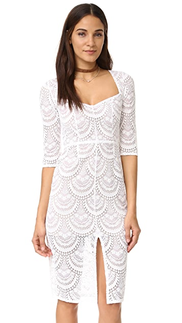 For Love & Lemons Rosalita Pencil Dress