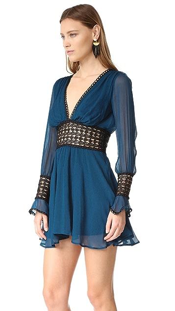 For Love & Lemons Celine Mini Dress