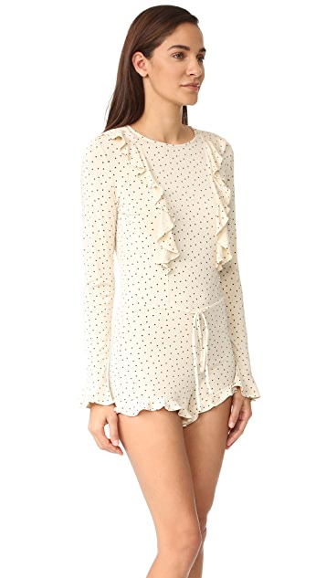 For Love & Lemons Emanuelle Romper