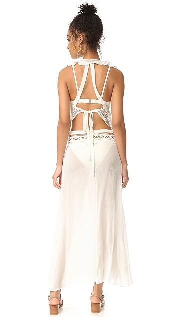 For Love & Lemons Martinique Maxi Dress
