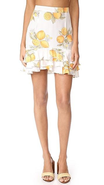 For Love & Lemons Limonada Skirt