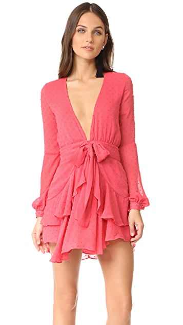 1ec81dab8379 For Love   Lemons Tarta Long Sleeve Mini Dress
