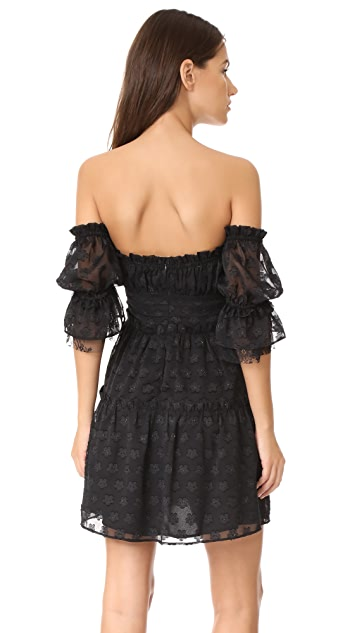 For Love & Lemons Modern Love Off Shoulder Dress