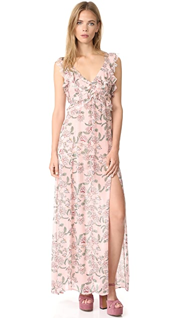 e8edb0d724016 For Love & Lemons Bee Balm Floral Maxi Dress | SHOPBOP