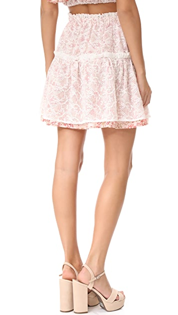 For Love & Lemons Sweet Disposition Skirt