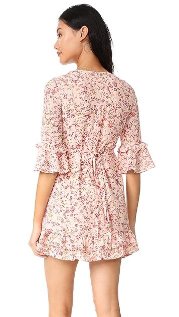 For Love & Lemons Churro Mini Dress