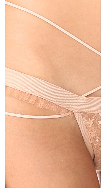 For Love & Lemons Zodiac Strappy Thong