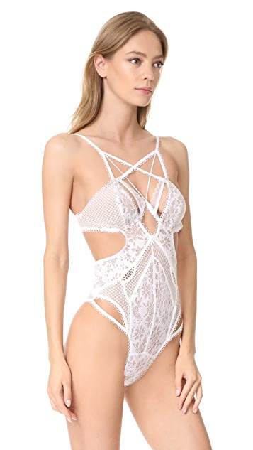 For Love & Lemons Vega Bodysuit