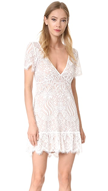 For Love & Lemons Lily Tee Dress