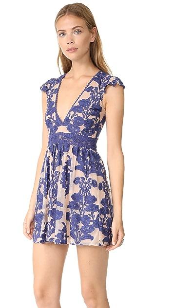 For Love & Lemons Temecula Short Sleeve Dress