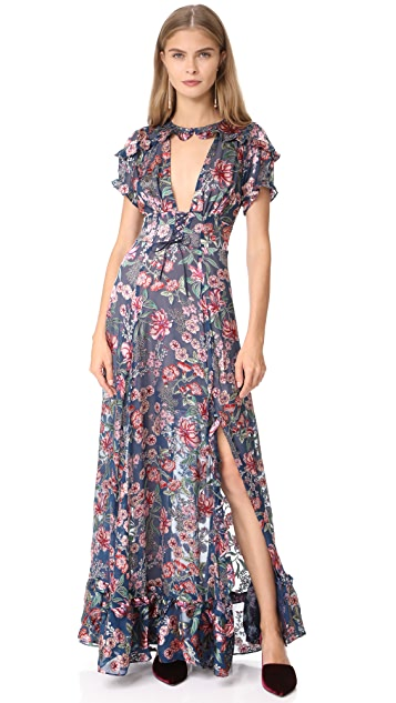 2e5b131a1faad For Love & Lemons Flora Maxi Dress | SHOPBOP