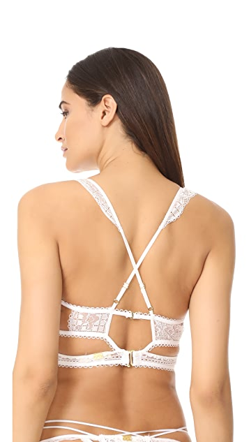 For Love & Lemons Etienne Lace Bralette