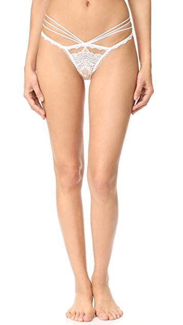 ee9f186a7f For Love   Lemons Etienne Lace Thong