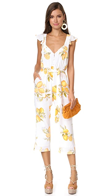 For Love & Lemons Limonada Jumpsuit