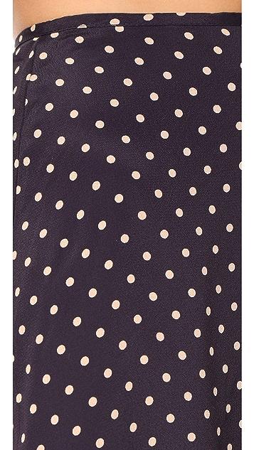 For Love & Lemons Polka Skirt