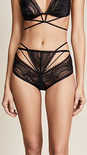 For Love & Lemons Karina High Waist Panties