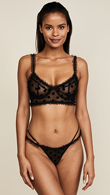 For Love & Lemons Romy Strappy Thong