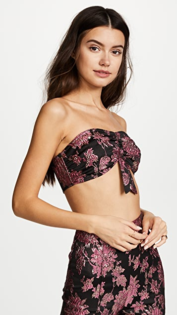 For Love & Lemons Luella Crop Top