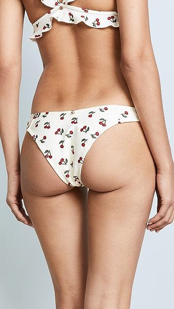 For Love & Lemons Mon Cheri Bikini Bottoms